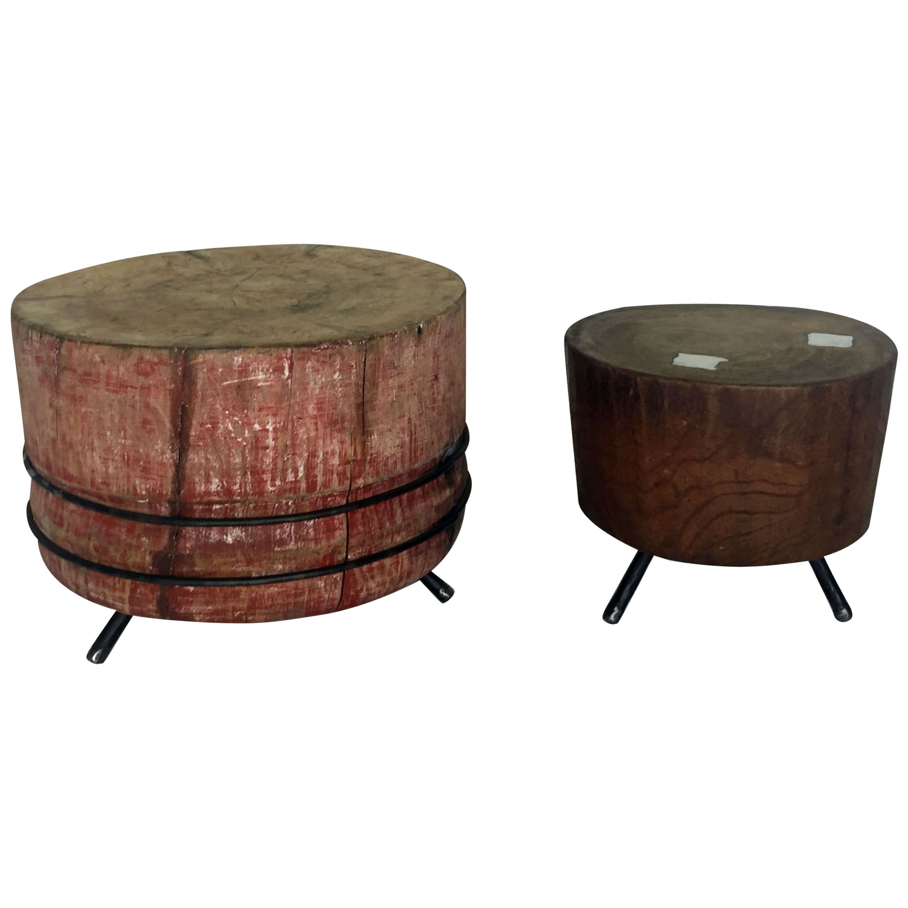 Chopping Block Cocktail Tables