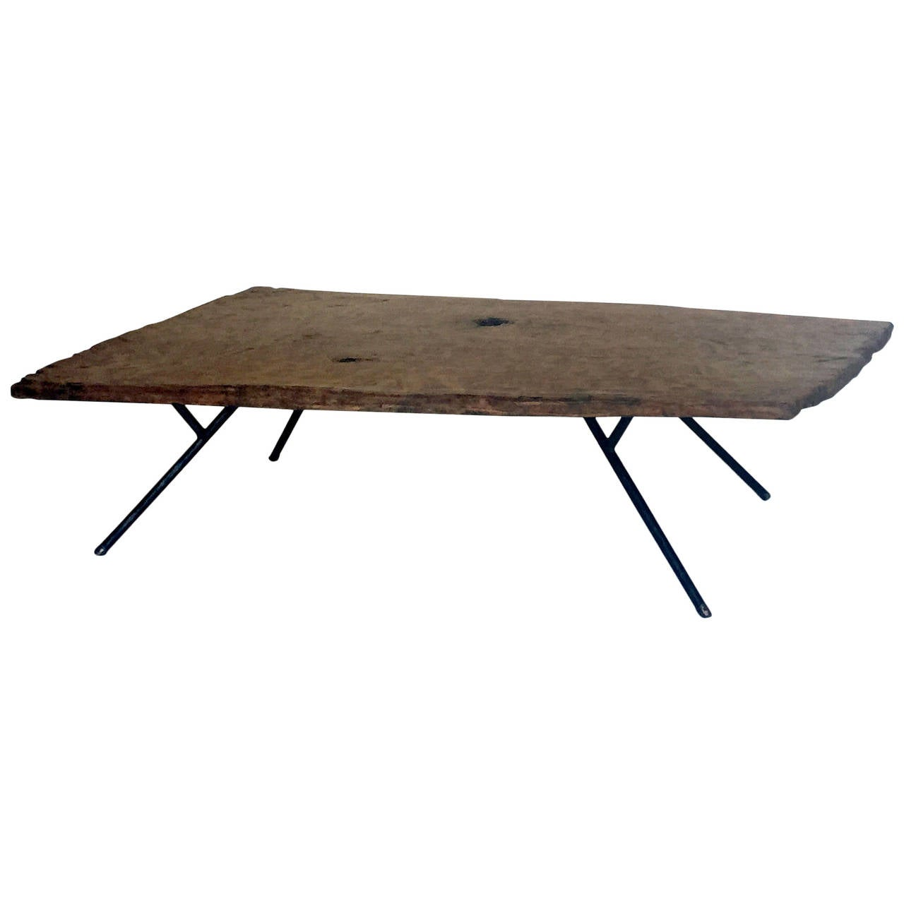 Plank Modern Coffee Table by Dos Gallos Studio