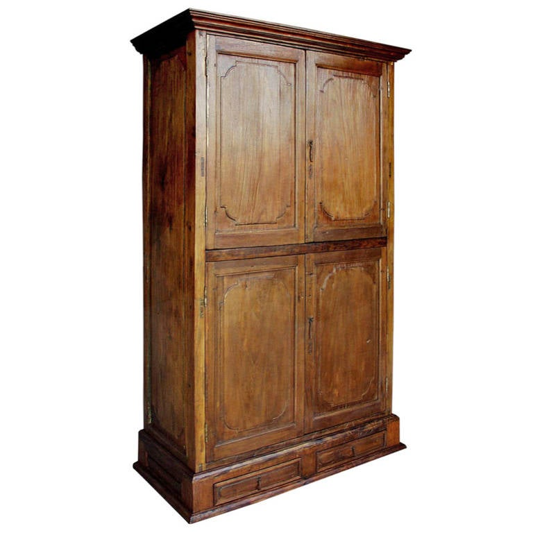 antique door armoire for sale at 1stdibs. Black Bedroom Furniture Sets. Home Design Ideas