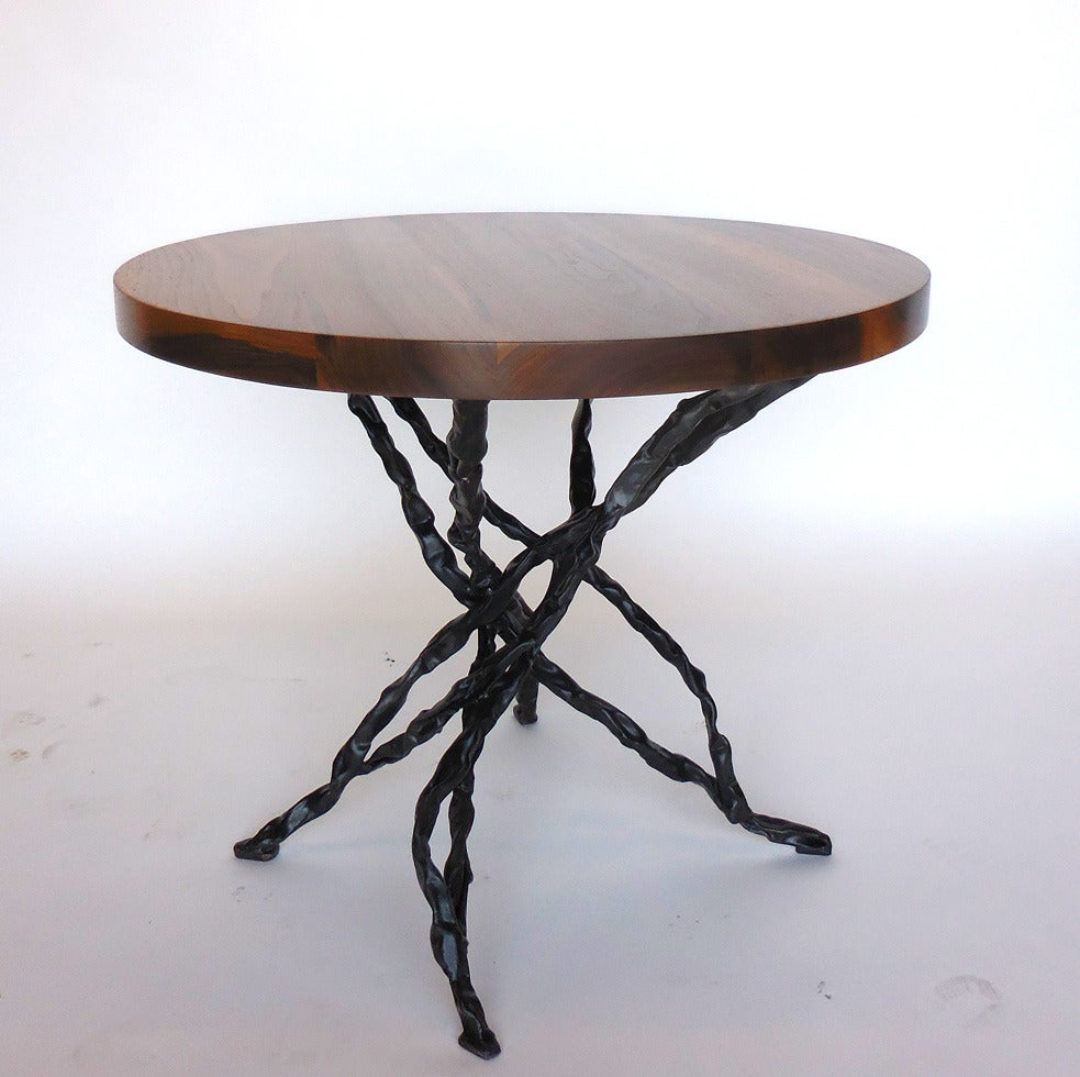 Dos gallos custom walnut vine side table for sale at 1stdibs for Table and vine