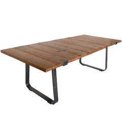 Dos Gallos Reclaimed Wood Table