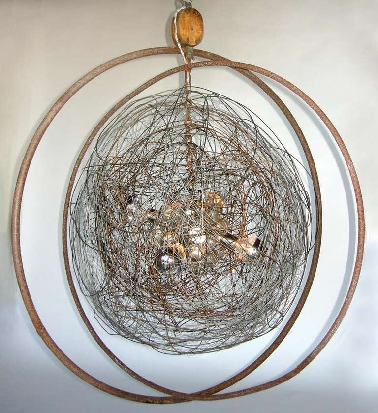 Large Scale Neptune Pendant Light At 1stdibs