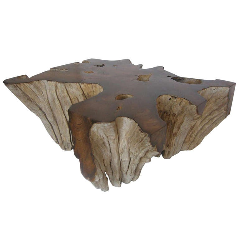 Root Coffee Table For Sale: Teak Root Coffee Table At 1stdibs