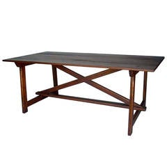 Custom Primitive Saint Anthony Table by Dos Gallos Studio