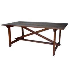 Custom Primitive Saint Anthony Table by Dos Gallos Studio