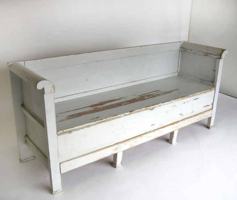 19th C. Swedish Bench At 1stdibs