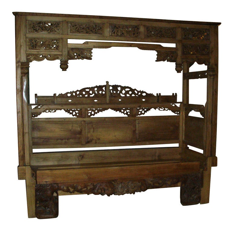 19th century chinese opium bed at 1stdibs for China furniture bed