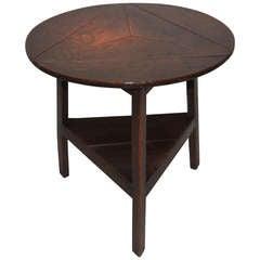 18th Century English Folding Top Cricket Table