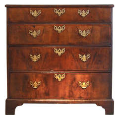East Anglian Walnut George I Walnut Chest of Drawers