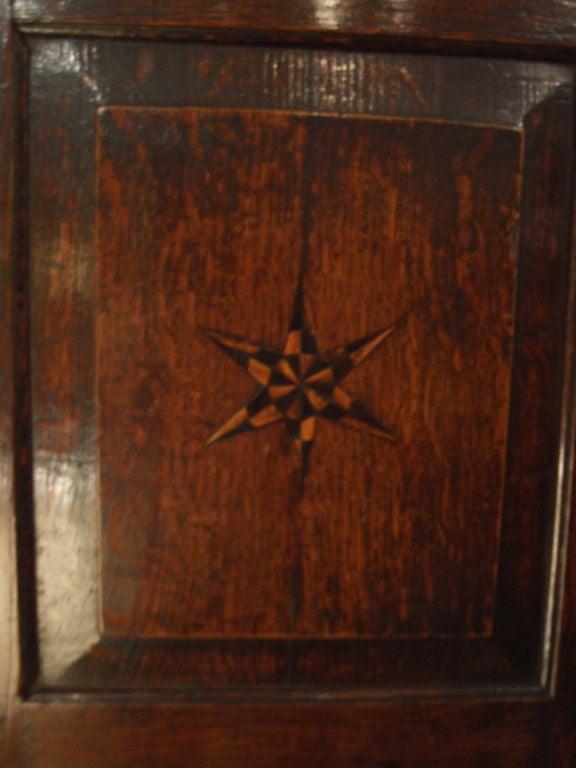 Star Inlaid Wall Cupboard 5