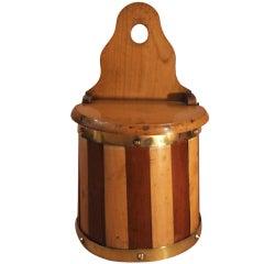 Wall Mounted Scottish Salt Box