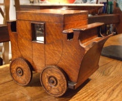 English Late 19th Century Gentleman's Cigar Trolley