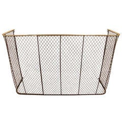 Overscale Wrought Iron Mesh Screen