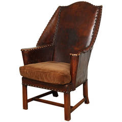 One-of-a-Kind English Country House Wingchair