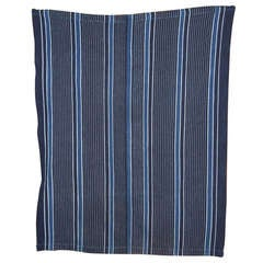 Indigo Dyed Yoruba (Nigeria) Woman's Weave Cloth
