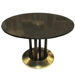 Spectacular Ebonized Table  in the Manner of Josef Hoffmann