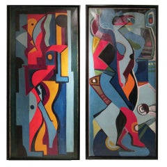 Pair of Paintings by Gerald D. Coarding, American (1911-1986)