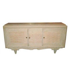 Parquetry Cerused Oak Sideboard