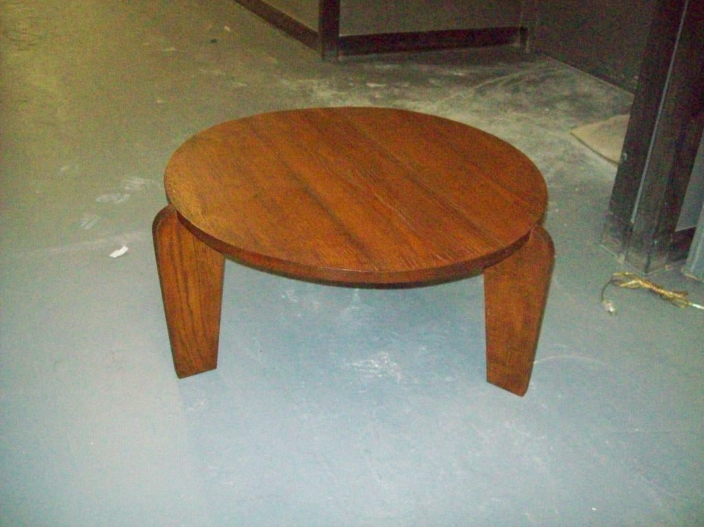 A coffee table cocktail table in the jean prouve manner at 1stdibs - Jean prouve coffee table ...