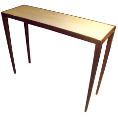 Spectacular Shagreen Top Console in the Jean Michel Frank Manner