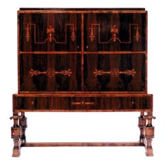 Elegant Carl Malmsten Swedish Grace Period Cabinet