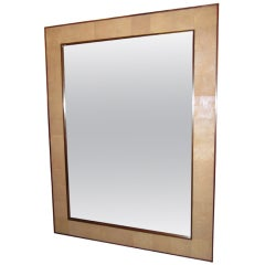 Rectangular Shagreen Mirror