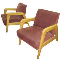A Pair of Mid-Century Modern Armchairs