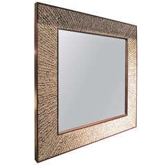 Exquisite  Pheasant Feather Mirror