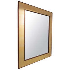 Custom Rectangular Parchment Mirror