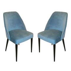 Pair of Italian Mid-Century Modern Chairs