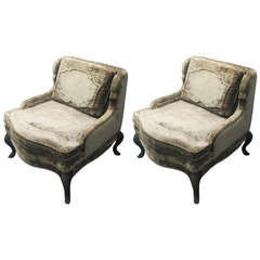 Pair of Whimsical Chairs in the Regence Manner
