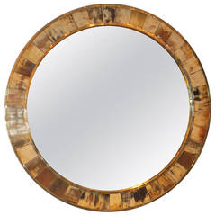 Circular Horn Mirror in the Karl Springer Manner
