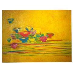 """Le Thiet Cuong, (1962-) Vietnam """"Bowls and Chopsticks"""","""