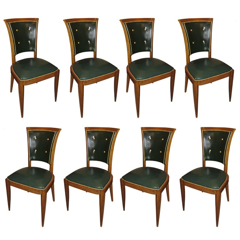 set of eight french art deco dining chairs 1 art deco dining chairs