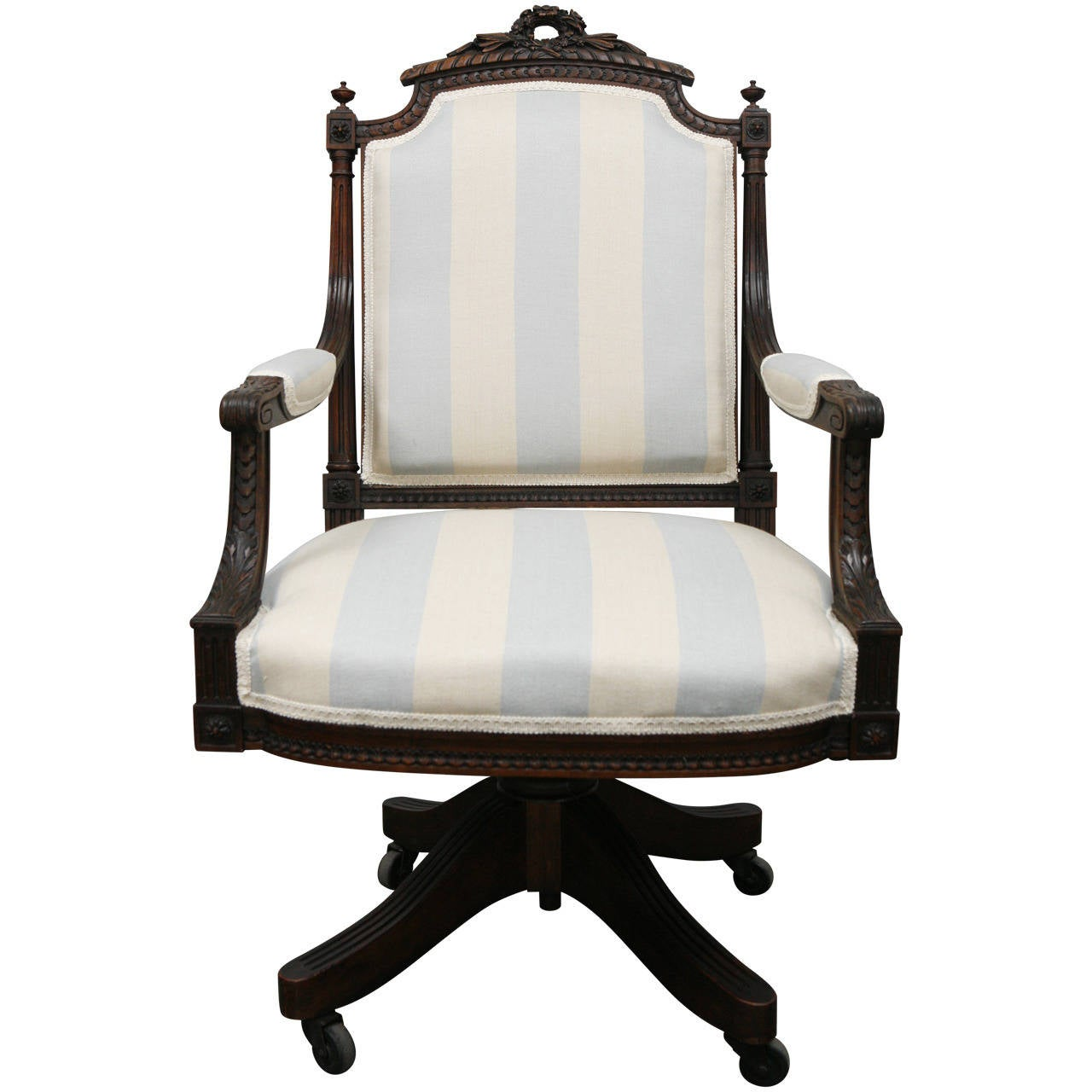 Louis xvi style office chair at 1stdibs for Style office furniture