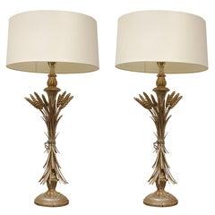 Pr Vintage Table Lamps