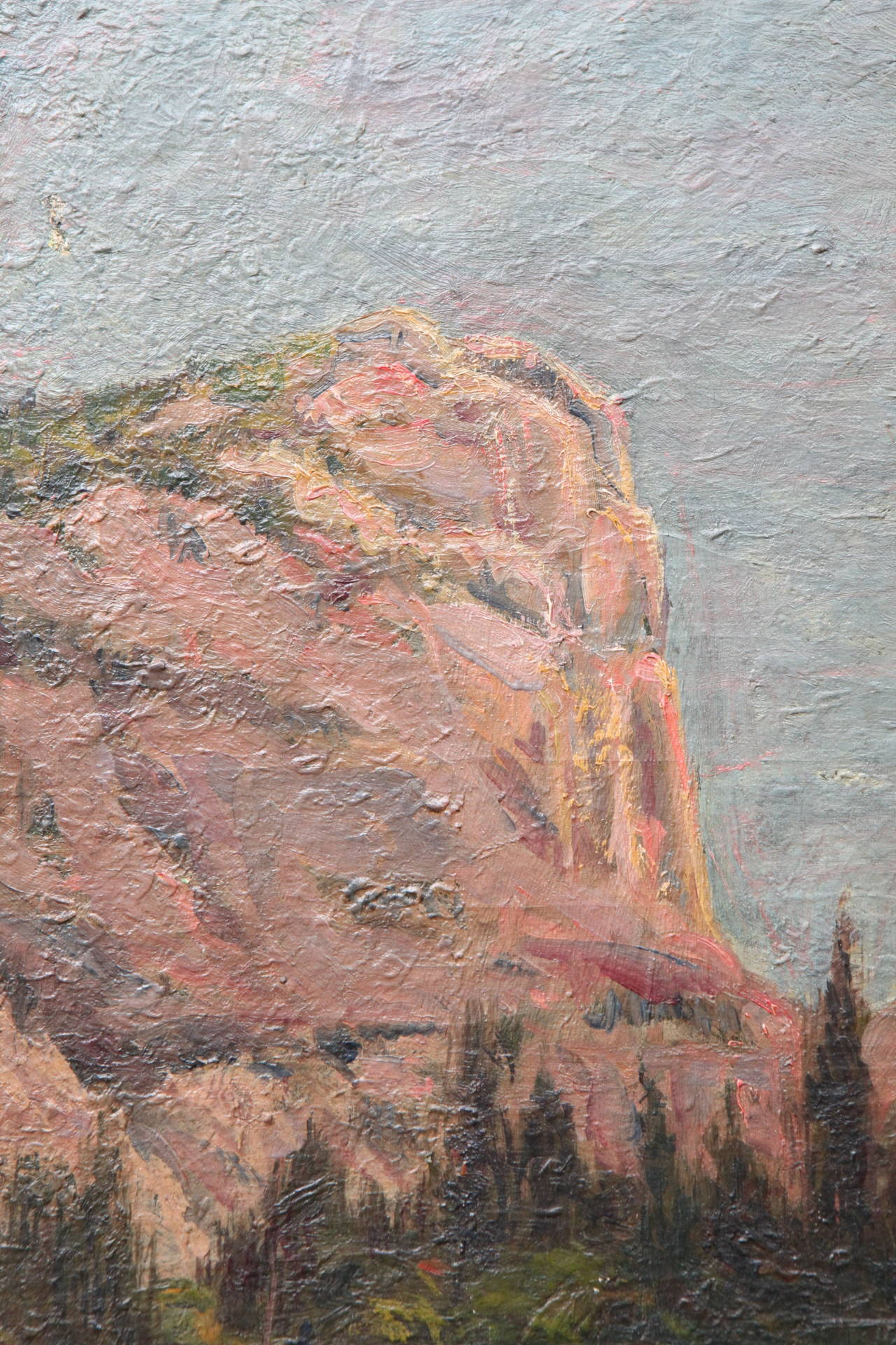 Other Painting of Yosemite, 1896 For Sale