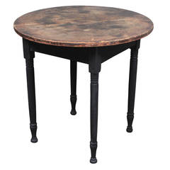 American Country Table, circa 1850s