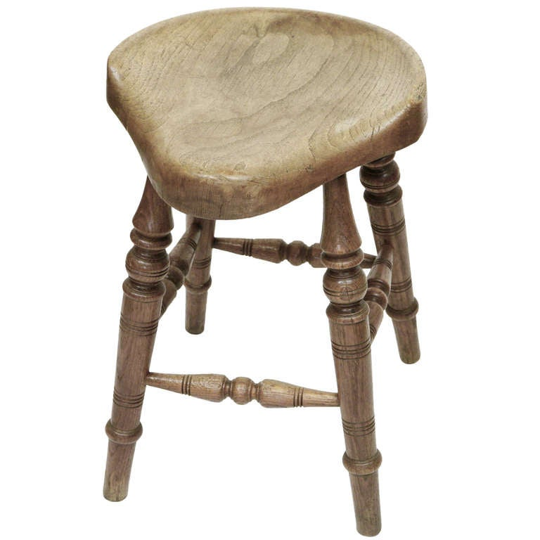 Antique Saddle Seat Stool 1  sc 1 st  1stDibs & Antique Saddle Seat Stool For Sale at 1stdibs islam-shia.org