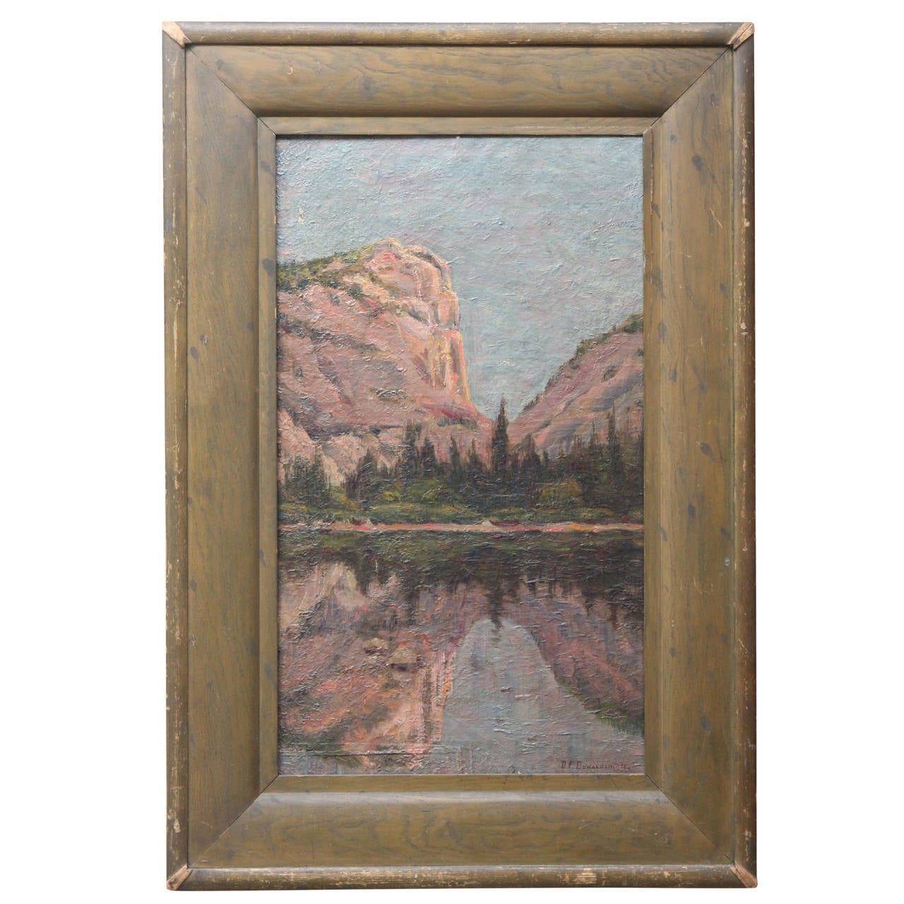 Painting of Yosemite, 1896 For Sale