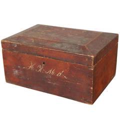 English Utility Box, circa 1850s