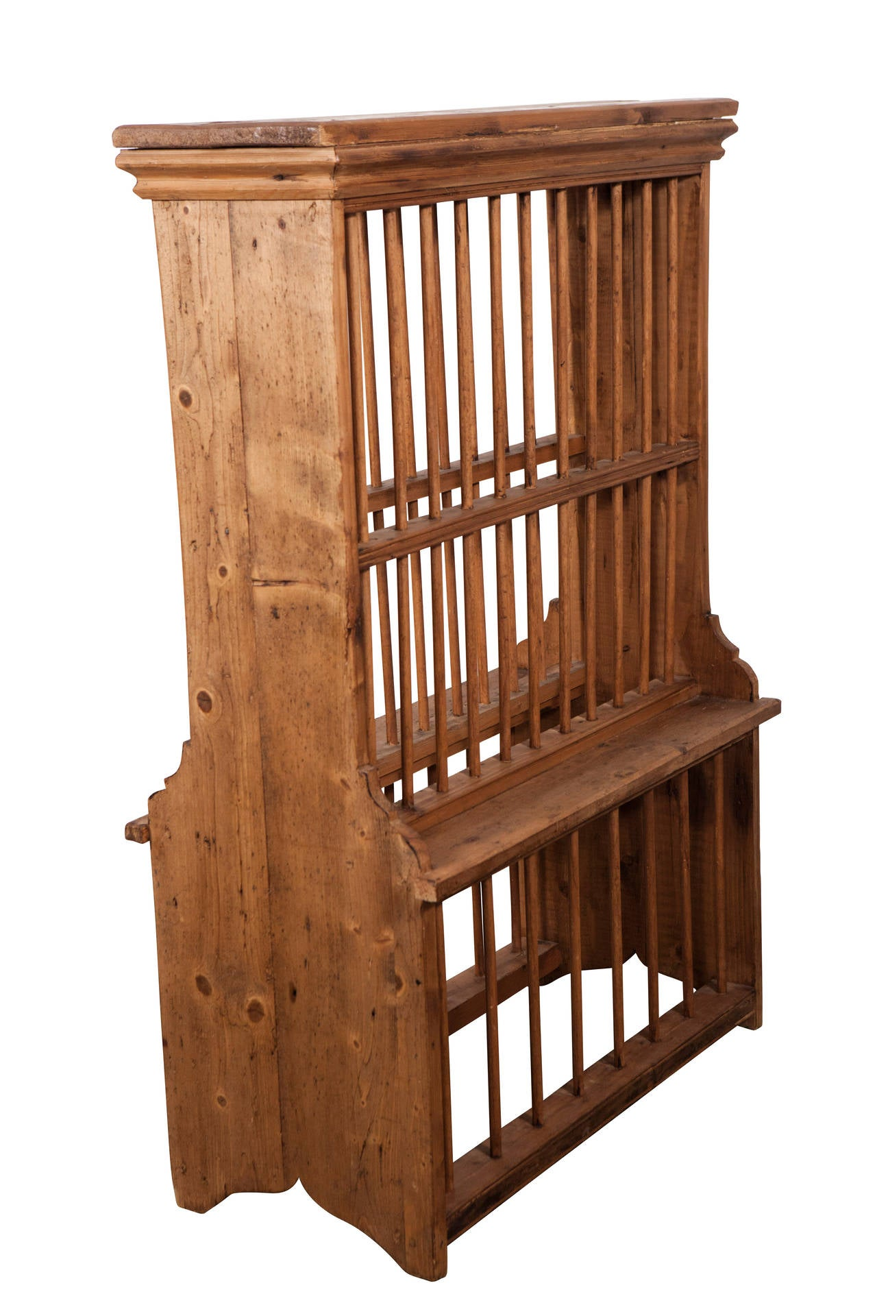 Country English Standing Pine Plate Rack For Sale  sc 1 st  1stDibs & English Standing Pine Plate Rack For Sale at 1stdibs