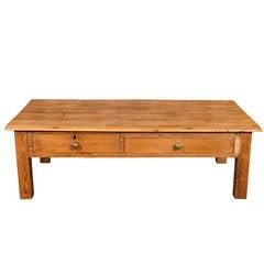 English Pine Coffee Table