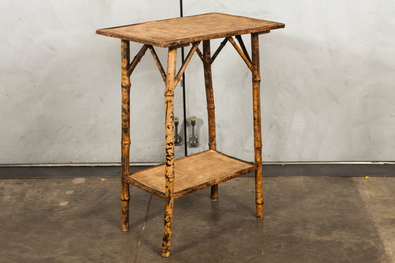 Variety Of 19th Century Victorian English Tiger Bamboo Tables 3