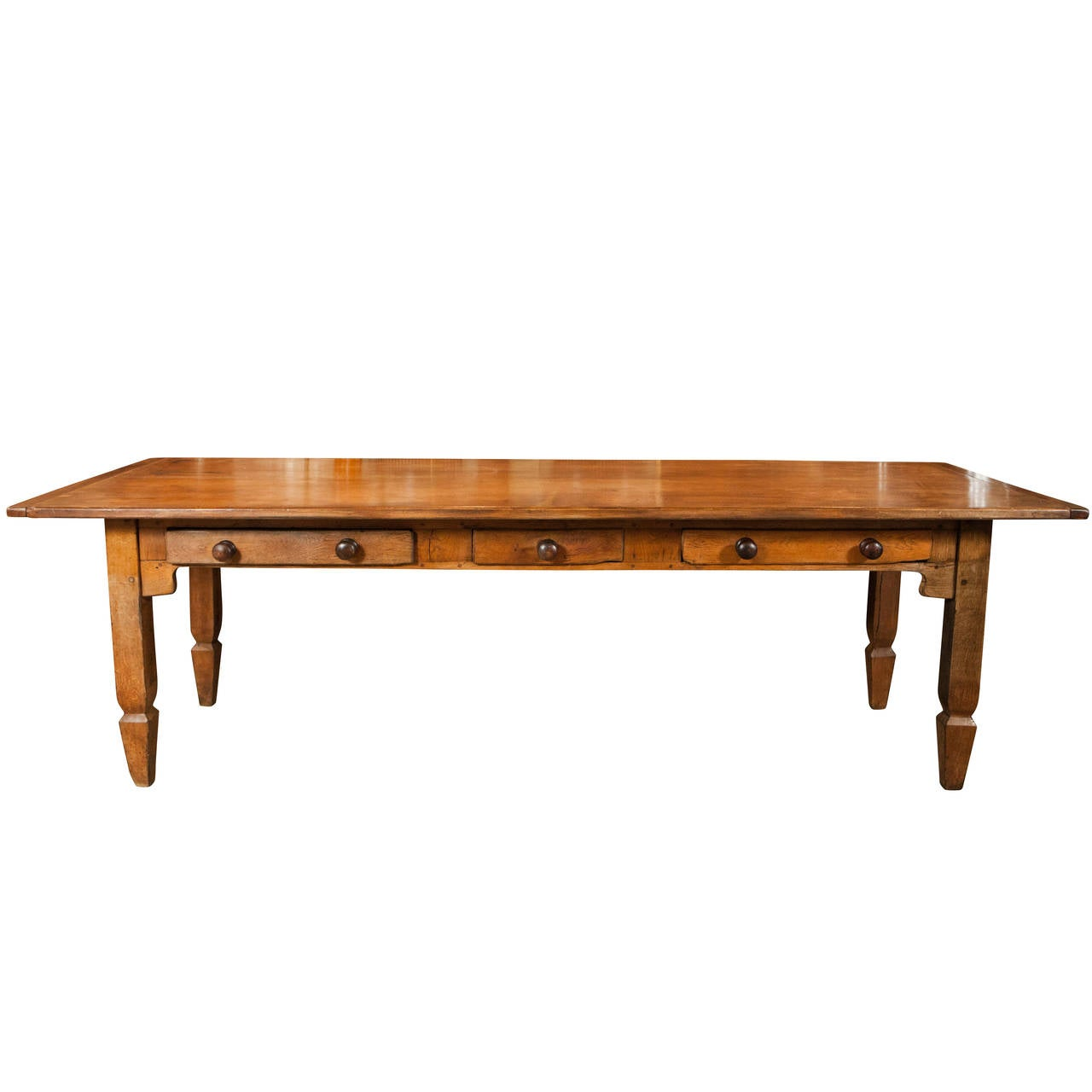 Long Country Dining or Work Table