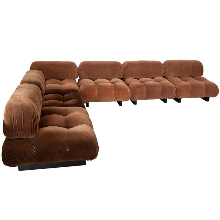 mario bellini b and b italia sofa at 1stdibs. Black Bedroom Furniture Sets. Home Design Ideas