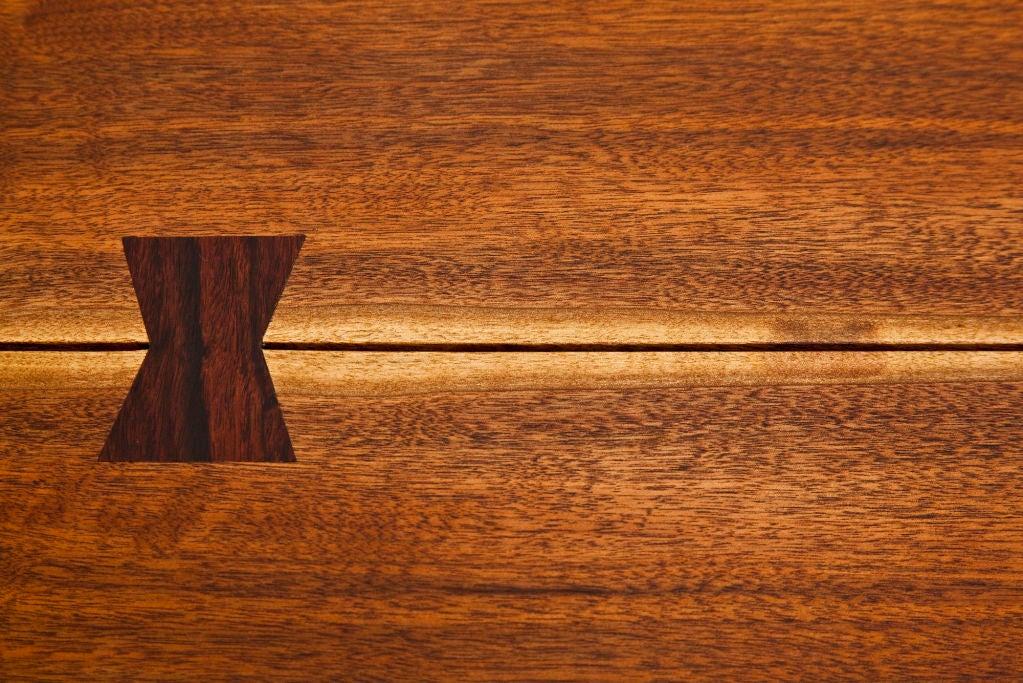 Mid-20th Century Cross-Legged Table by George Nakashima