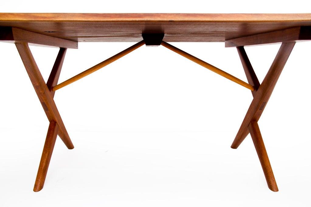Walnut Cross-Legged Table by George Nakashima