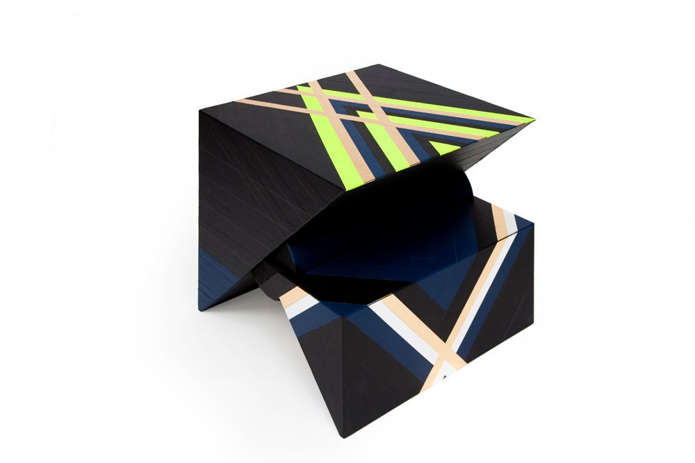 Side Table from Taped Series by Rafael de Cardenas