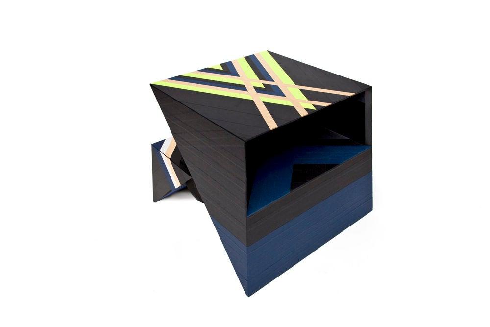Contemporary Side Table by Rafael de Cardenas
